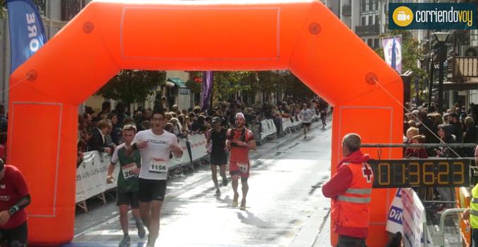 finish semi marathon pays basque